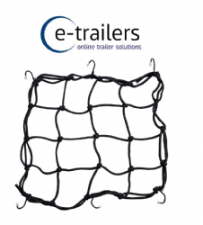Elasticated Cargo Luggage Retaining Net with 6 hooks